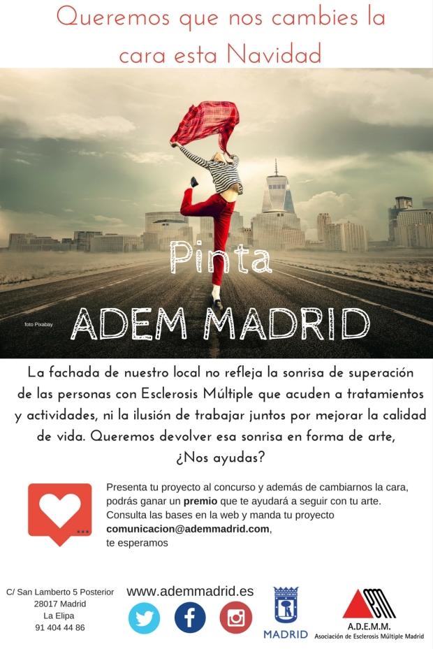 PintaADEM MADRID imagen concurso